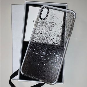 Casetify iPhone XS MAX case Raindrops